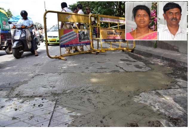 Deadly pothole kills couple in city