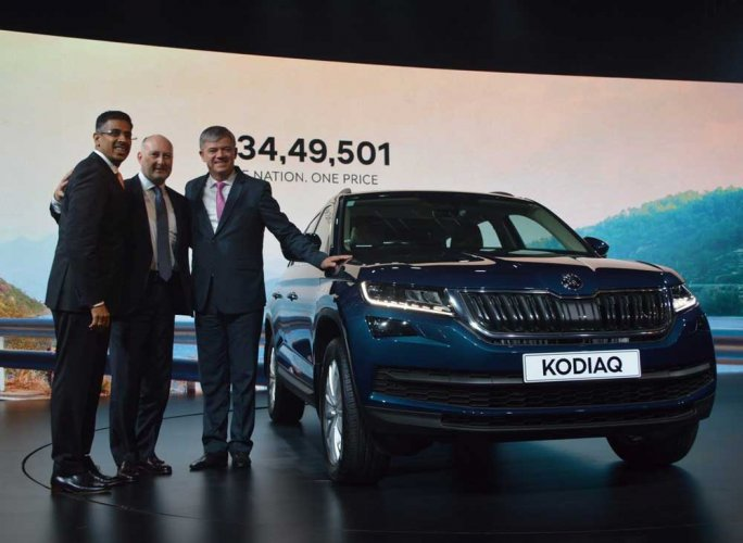 Skoda unveils new SUV Kodiaq