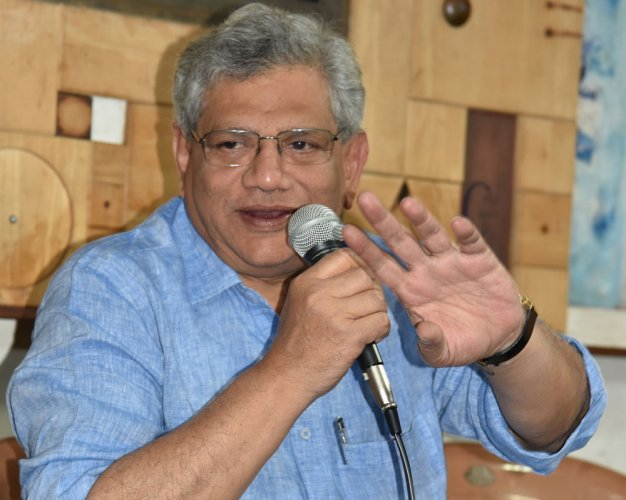 BJP diverting attention from Centre's performance: Yechury