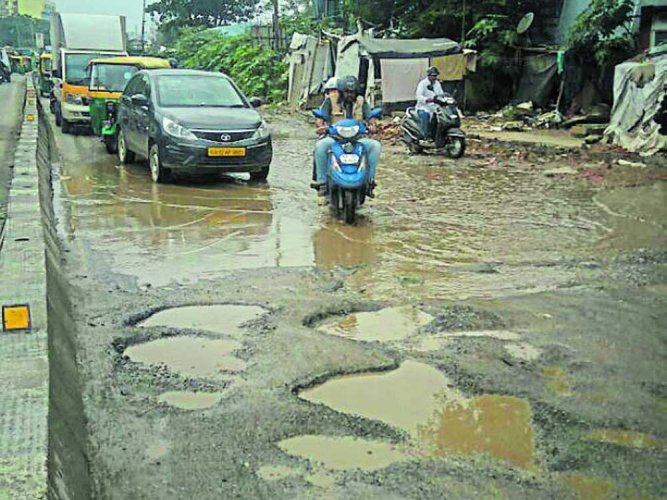 Potholes more than double to 33,621 since last week