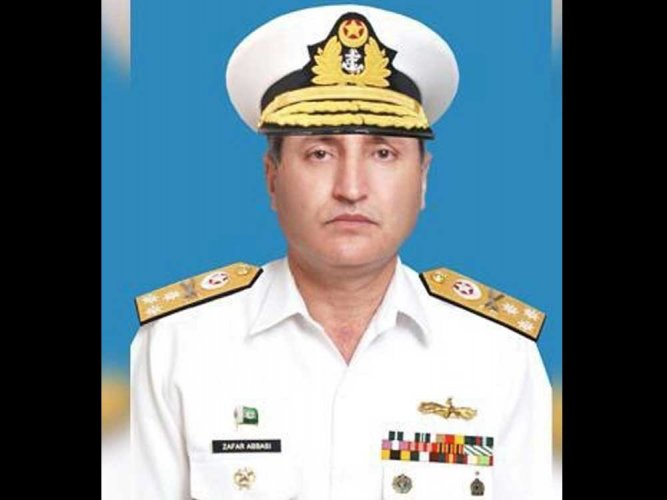 New Pak naval chief takes over