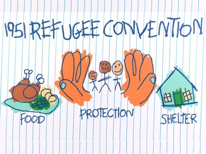 4 min video to teach your kids about refugees
