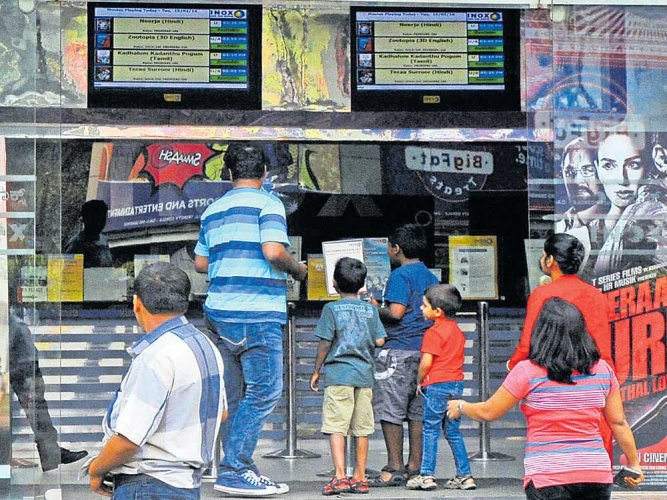 TN hikes theatre ticket prices by 25%; to cost Rs 160