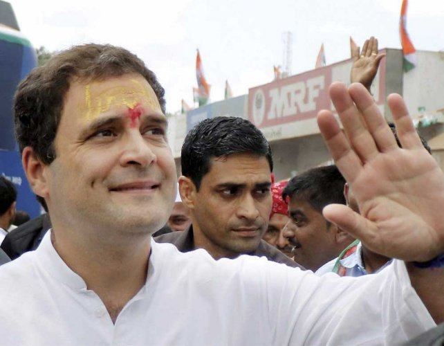 Cong internal polls enter last lap, Rahul set to don mantle