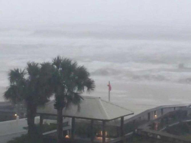 Hurricane Nate floods streets as it slams U.S. Gulf Coast