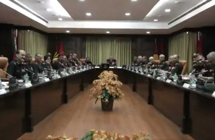 Army commanders' conference begins; focus on situation at China border, J&K