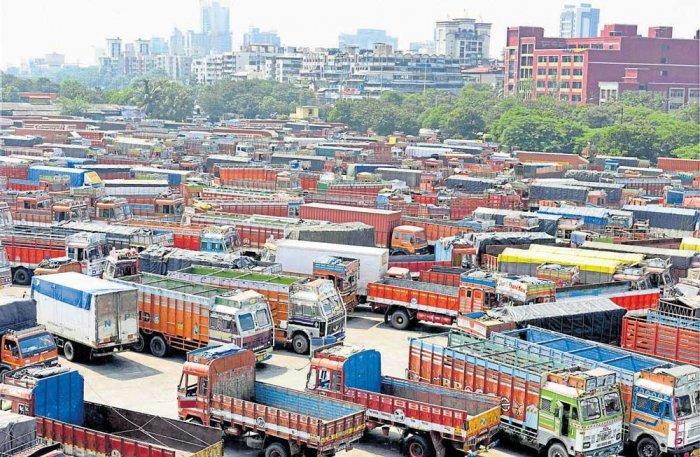 Truckers end strike