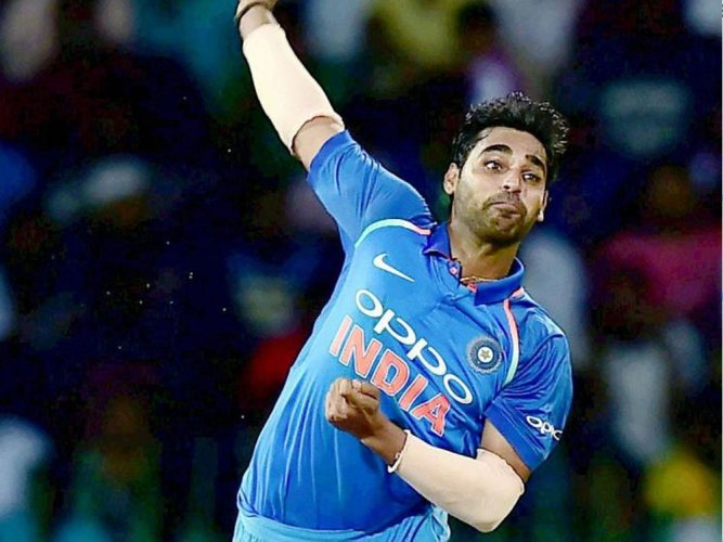 Losing Rohit and Virat in 1st over became crucial: Bhuvneshwar