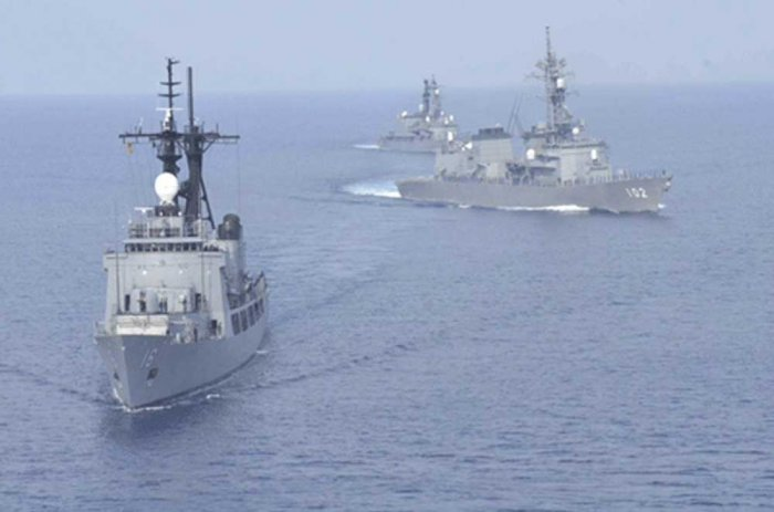 US warship sails near islands Beijing claims in South China Sea: US Official