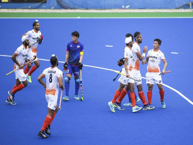Clinical India maul Japan 5-1 in Asia Cup Hockey opener