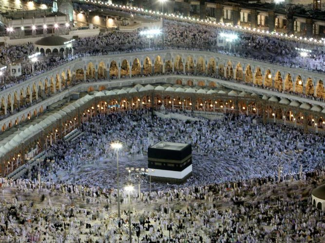 Cleric slams draft Haj policy, says equality should start with man bearing child