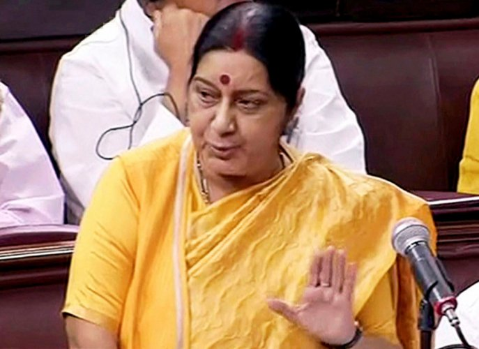 Sushma tweets help to Russian man found begging