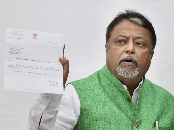 No plan to float a new party: Mukul Roy