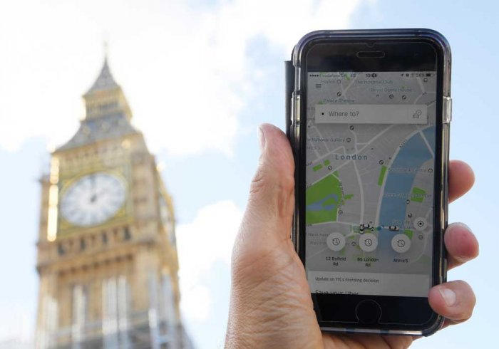 Uber files appeal to overturn London licence loss