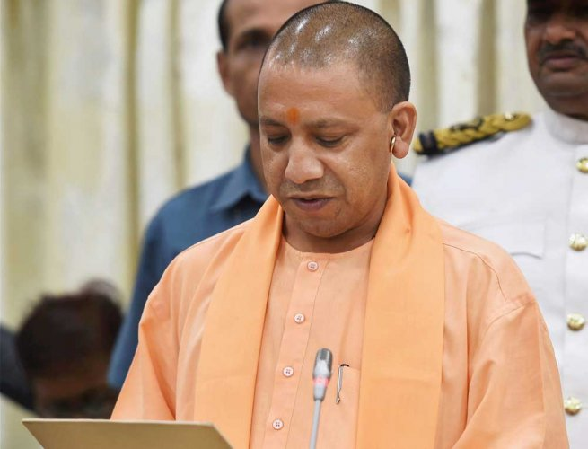 Yogi Adityanath launches scathing attack on Cong in PM's home state