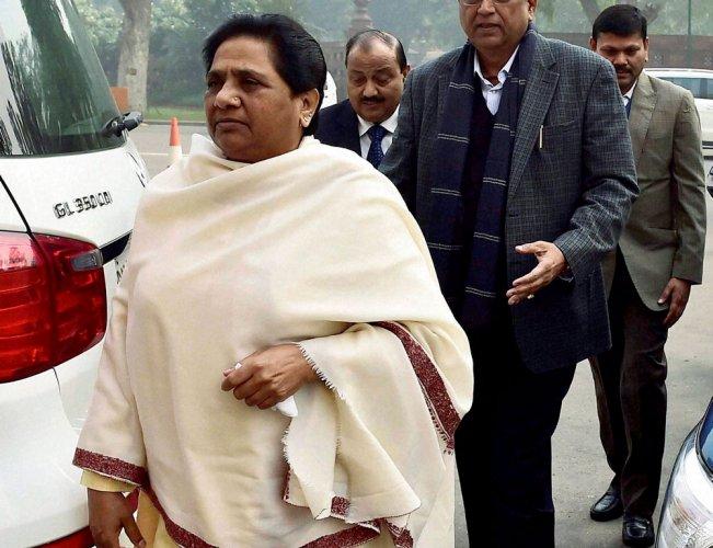 Confused Mayawati is losing ground