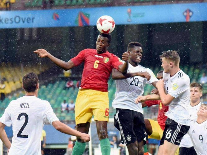 Germany too good for Guinea
