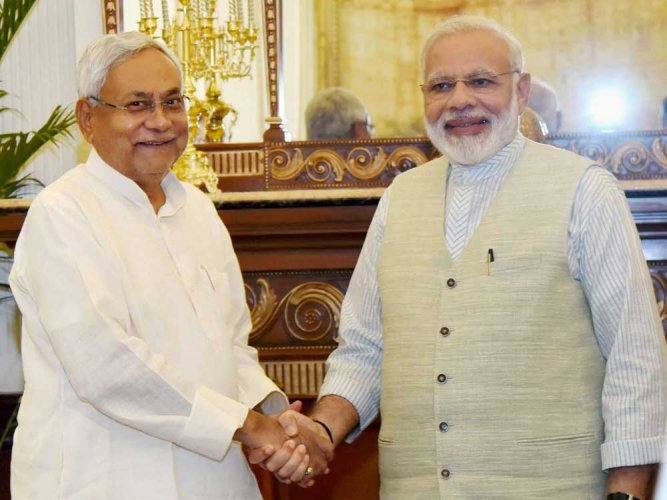 Nitish, PM to share dais after patch-up