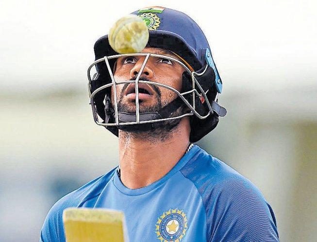Dhawan back in ODI team; Karthik, Thakur too recalled