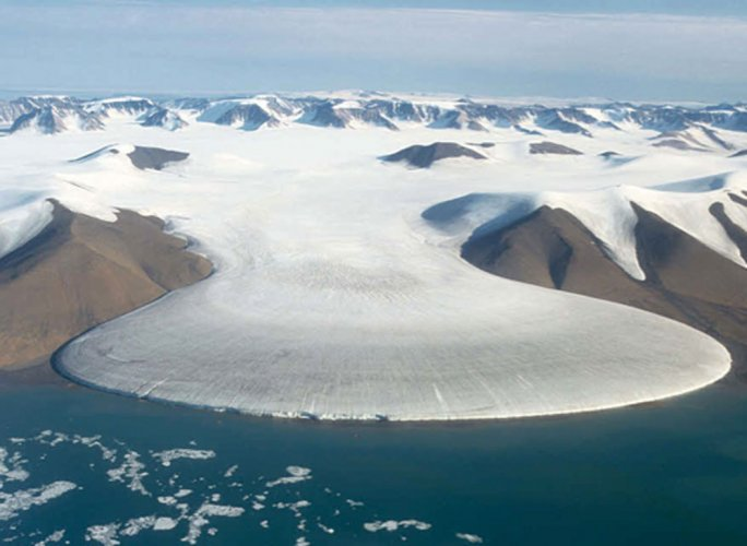 Melting ice making sea around Greenland less saline: study