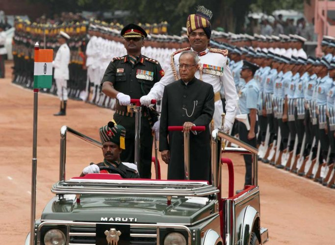 In 2004, Pranab wanted to be home minister