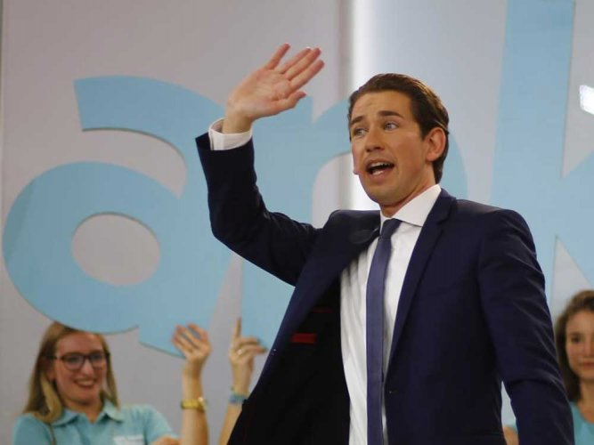 Austria's Kurz: world's youngest leader in waiting