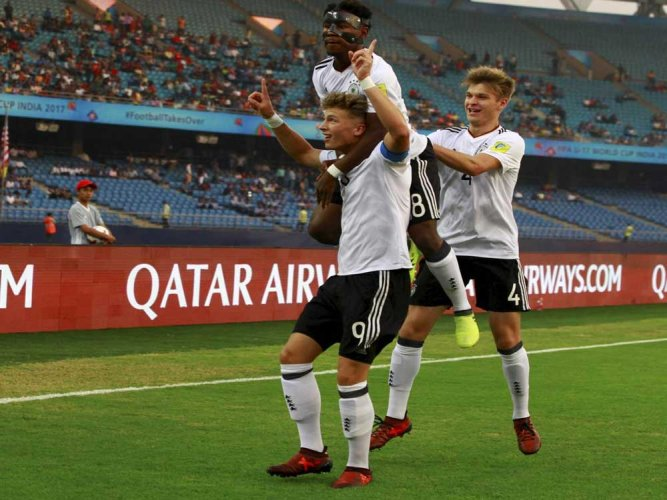 Germany too good for Colombia