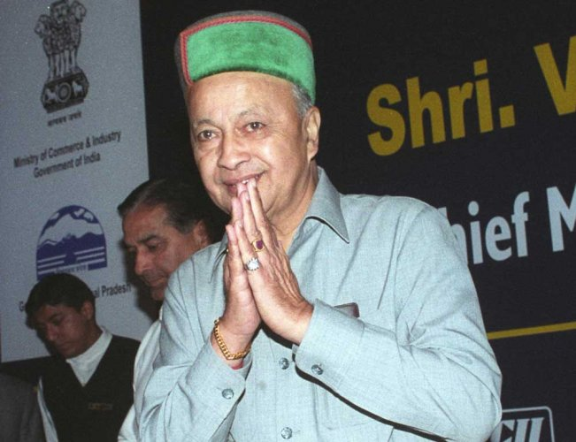 Virbhadra junks Theog seat; eyes former Cong stronghold Arki