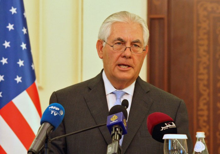 Tillerson to deliver major India policy speech tomorrow