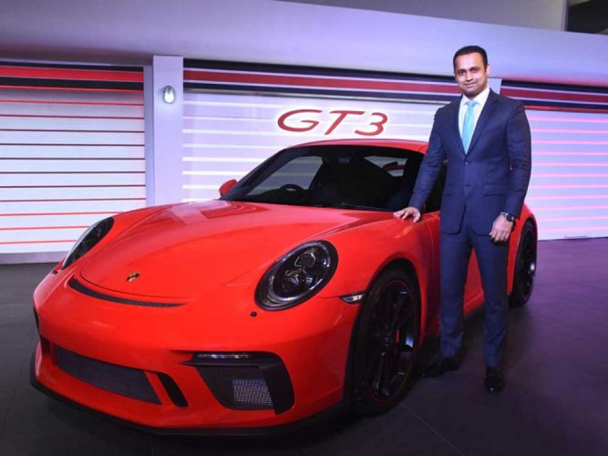 Porsche 911 GT3 ready for India's roads and race tracks
