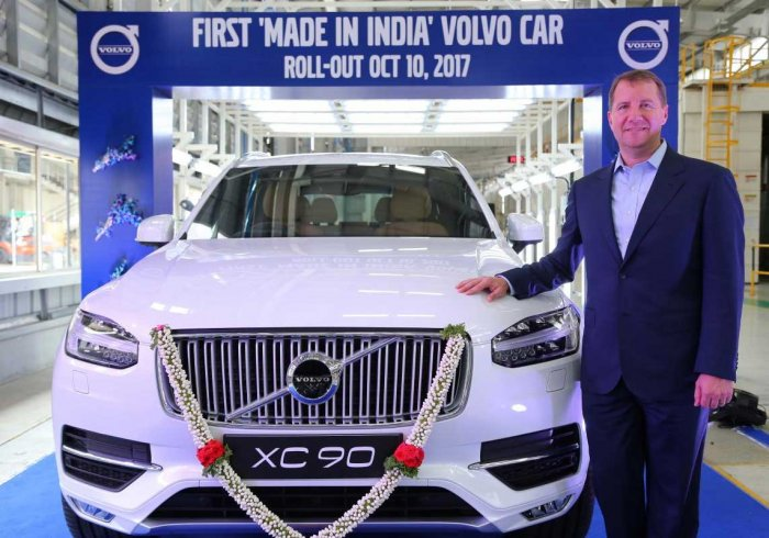 Volvo Cars Makes in India