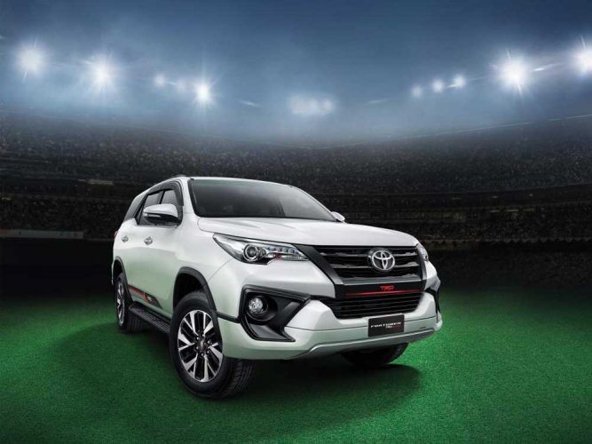 Toyota brings in Fortuner TRD Sportivo