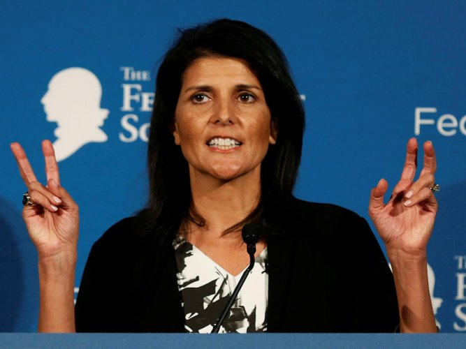Key to India becoming permanent member of UNSC is not to touch veto: Haley