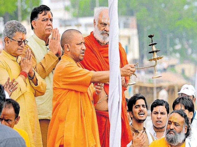 Ram Rajya means no poverty or discrimination, says Adityanath in Ayodhya