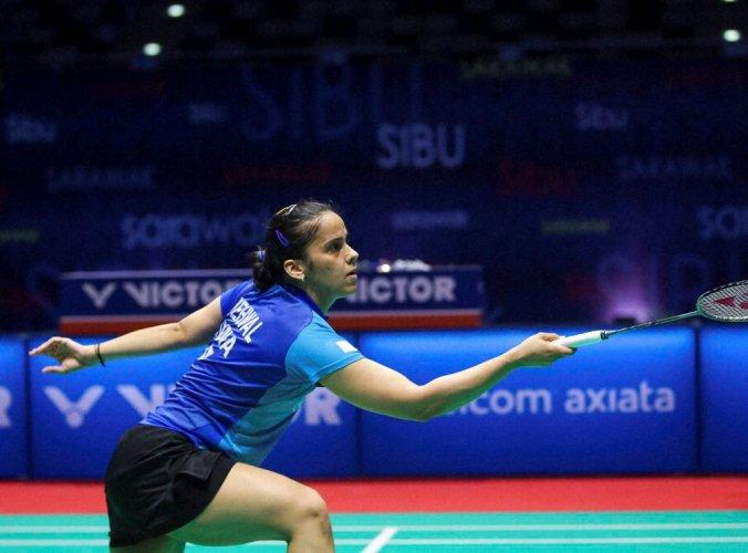 Denmark Open: Saina knocks out Marin, Sindhu loses to Chen Yufei