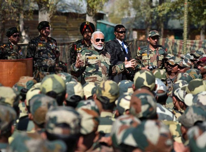 Modi says jawans are his family, celebrates Diwali with soldiers in Gurez Valley