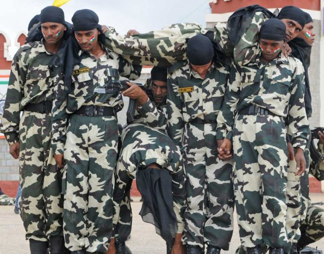 MHA tells states paramilitary forces are not substitutes for local police