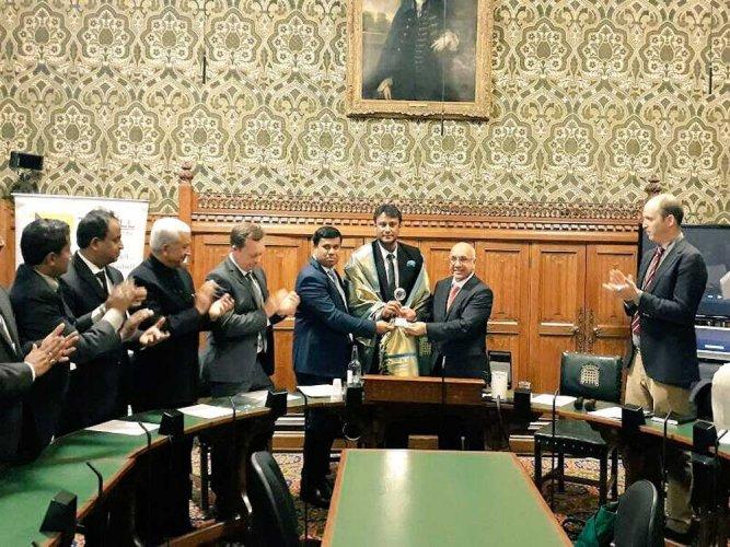 Invited Darshan in my personal capacity: UK MP