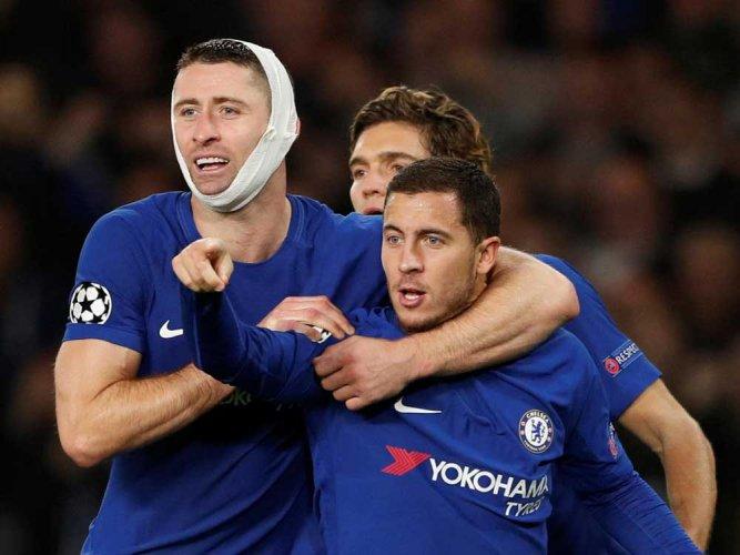 Super Hazard rescues Chelsea
