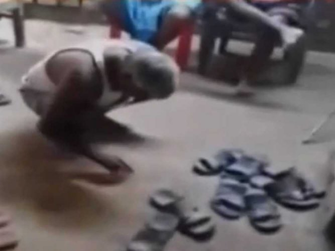 Cobbler forced to lick his saliva as punishment in Bihar
