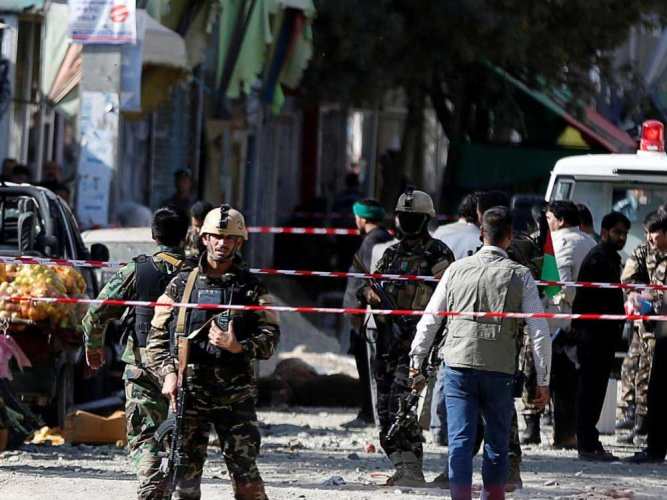 Pair of mosque attacks kill at least 50 in Afghanistan
