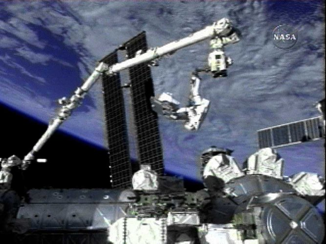 Astronauts spacewalk to install new camera system on ISS