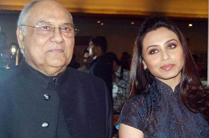 Rani Mukherji's father passes away