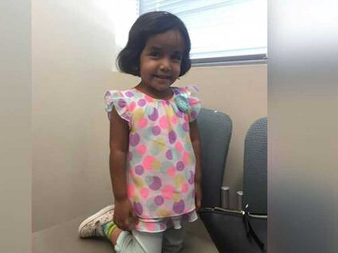 US police find body 'most likely' of 3-year-old missing Indian girl