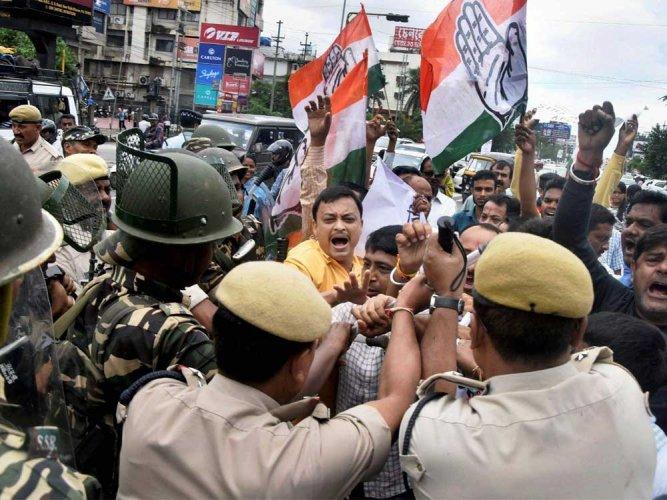 Assam BJP MP under Cong attack for remarks against Nehru-Gandhi