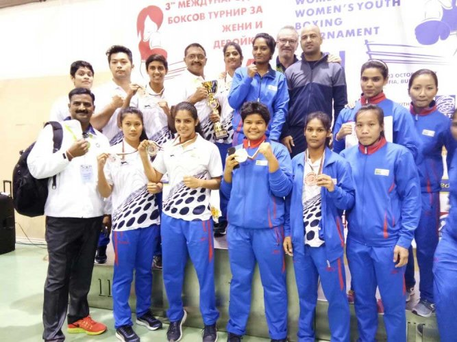 Indian women boxers win five more medals at 'Balkan' meet