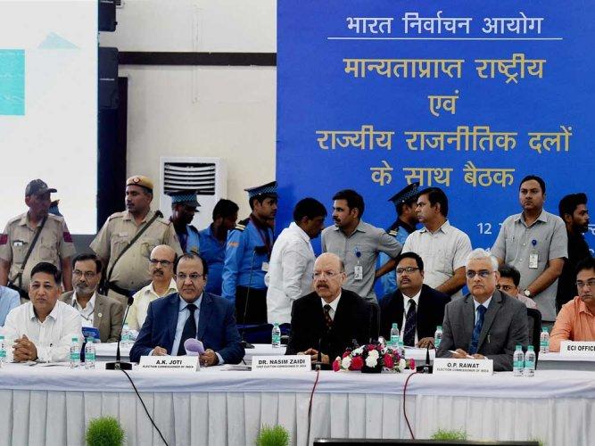 EC explains delinking polls in 2 states
