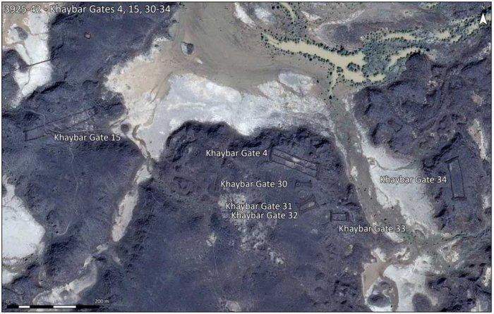Google Earth discovers ancient stone gates in Saudi Arabia