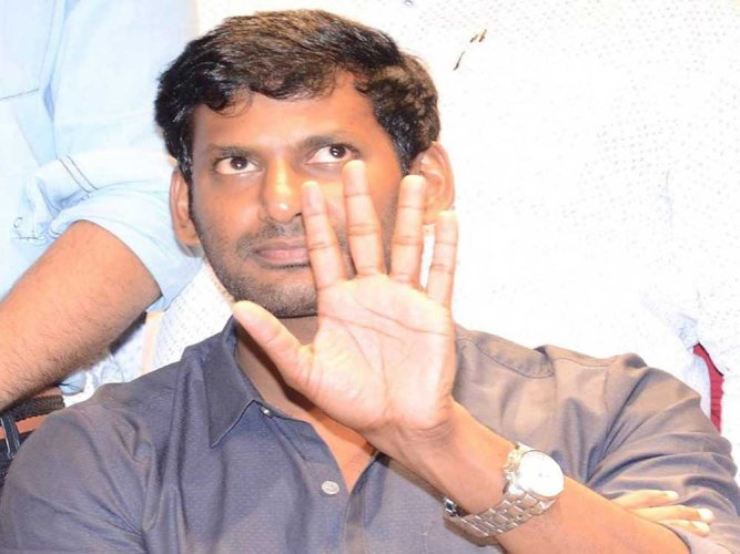 Searches at Vishal's office nothing to do with 'Mersal': I-T dept