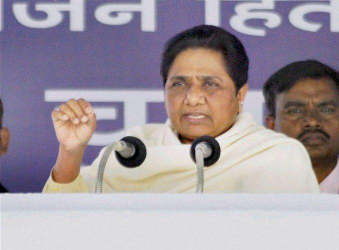 BJP may get Ram temple built to win next polls, says Mayawati